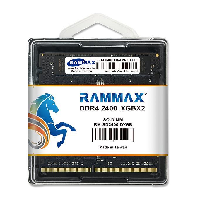 5132 RAMMAX RM-SD2400-D8GB (4GB 2枚組) DDR4-2400 (PC4-19200) 8GB Dual 1.2V対応