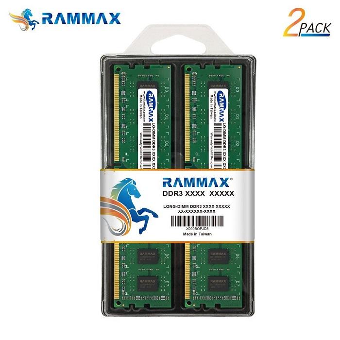 3081 RAMMAX RM-LD1066-D4GB (2GB 2枚組) DDR3 1066 (PC-8500) 4GB Dual