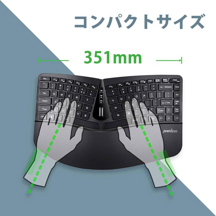 ワイヤレス キーボード マウスセット PERIDUO-606 Perixx製 6012