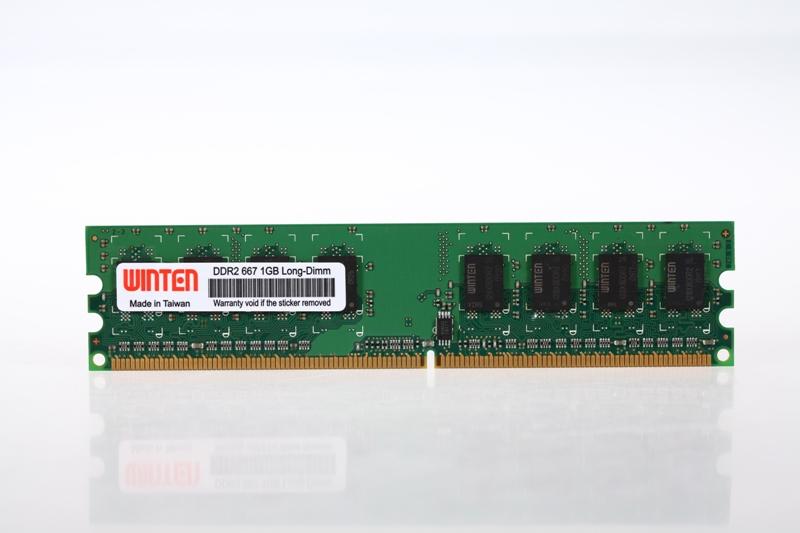 0133 WT-LD667-1GB  PC2 5300 (DDR2 667) pc2-5300 1gb