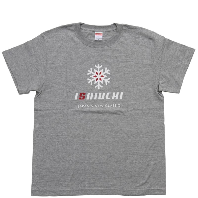 【石打丸山】ISHIUCHI オリジナルTシャツ Grey