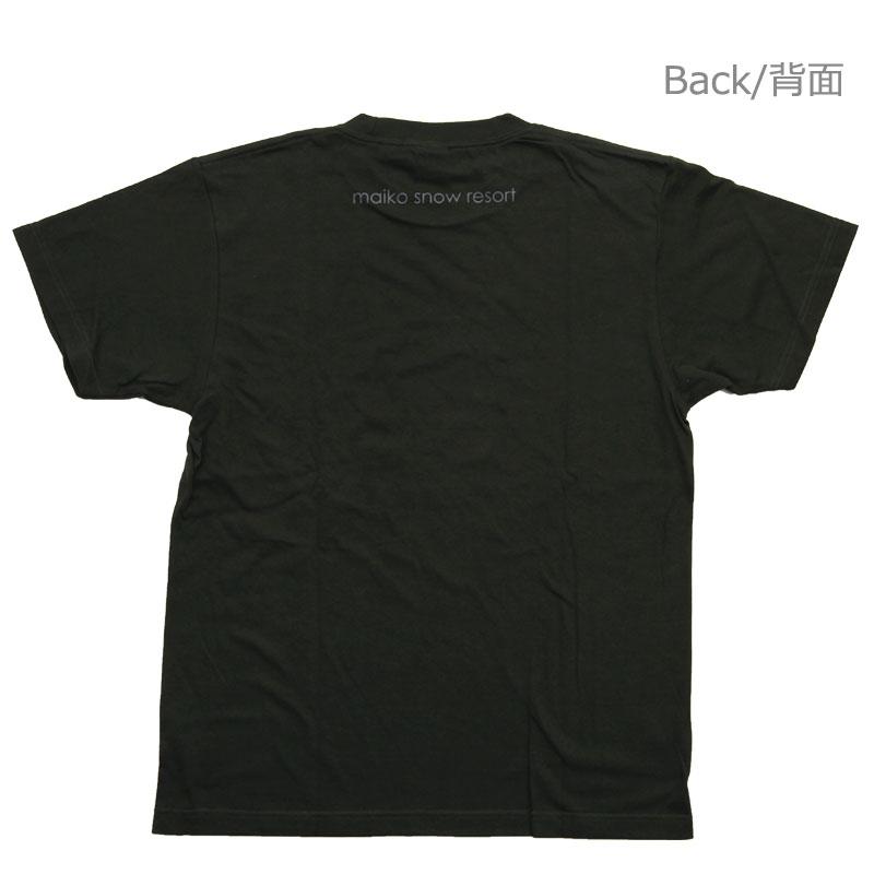 【舞子スノーリゾート】MAIKO オリジナルTシャツ Green