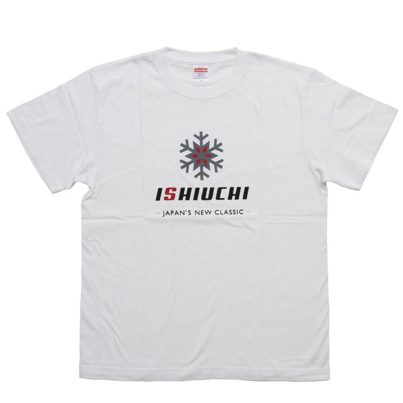 【石打丸山】ISHIUCHI オリジナルTシャツ White