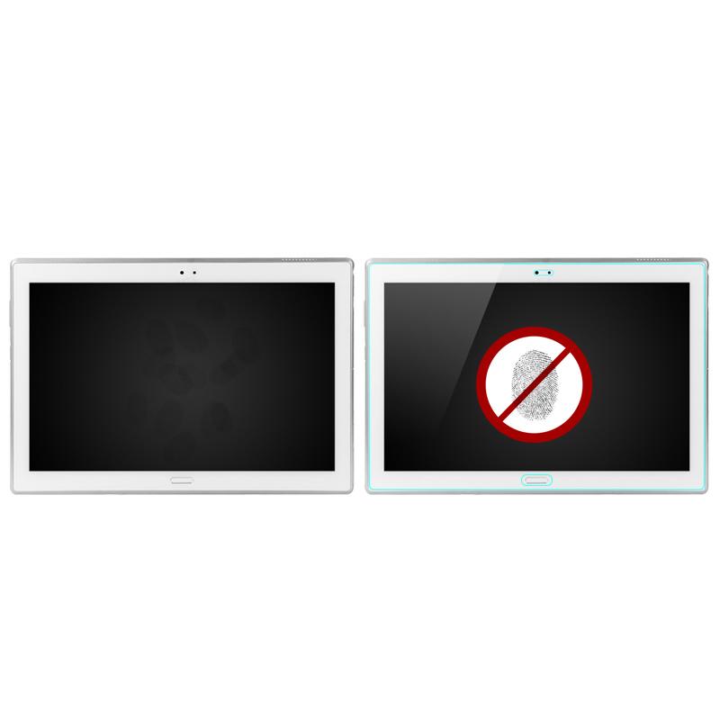 wisers ガラスフィルム NEC LAVIE Tab E TE510/HAW PC-TE510HAW 10.1インチ タブレット 専用 [2017 年 新型] 強化ガラス 液晶 保護 ガラス フィルム、耐衝撃、表面硬度9H、指紋・汚れ防止コート、スムースタッチ、0.3mm