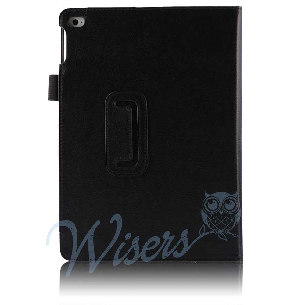 【タッチペン・フィルム付】 wisers Apple iPad Air 2 タブレット 専用 ケース カバー [2014年 新型] 全3色 ブラック・ダークブルー・ピンク
