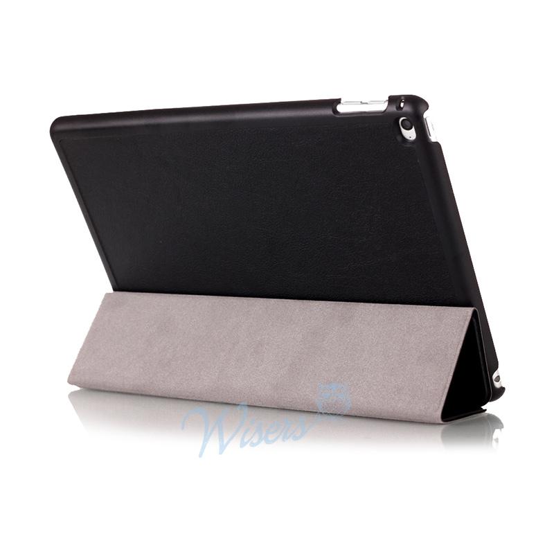 wisers Apple iPad mini 4 タブレット 専用 超薄型 スリム ケース カバー 全4色 ブラック・ダークブルー・スカイブルー・ピンク