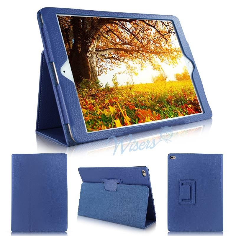 wisers Apple iPad Pro 12.9インチ タブレット 専用 ケース カバー 全4色 ブラック・ダークブルー・ホワイト・ピンク