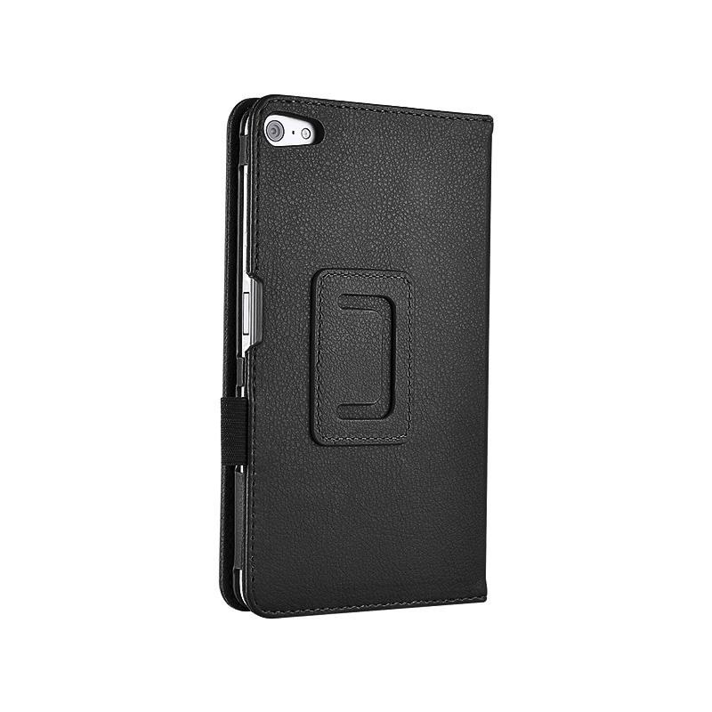 【タッチペン・フィルム付】 wisers Huawei MediaPad T2 7.0 Pro 7インチ タブレット 専用 ケース カバー [2016 年 新型] 全6色 ブラック・ホワイト・ダークブルー・スカイブルー・ピンク・ゴールド