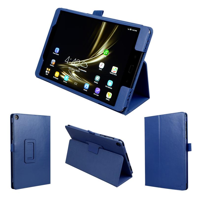 wisers ASUS ZenPad 3S 10 Z500M 9.7インチ タブレット 専用 ケース カバー [2016 年 新型] 全7色 ブラック・ホワイト・ダークブルー・スカイブルー・ピンク・パープル・ゴールド