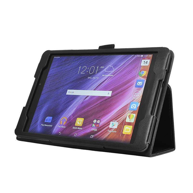 wisers ASUS ZenPad 3 8.0 , Z581KL タブレット 専用 ケース カバー [2016 年 新型] 全4色 ブラック・ホワイト・ダークブルー・パープル