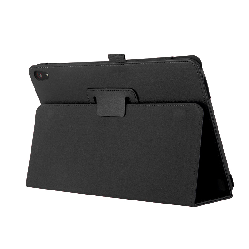 【タッチペン・フィルム付】 wisers Lenovo ThinkPad 10 2015年型 10.1インチ タブレット 専用 ケース カバー 全4色 ブラック・ホワイト・ダークブルー・レッド