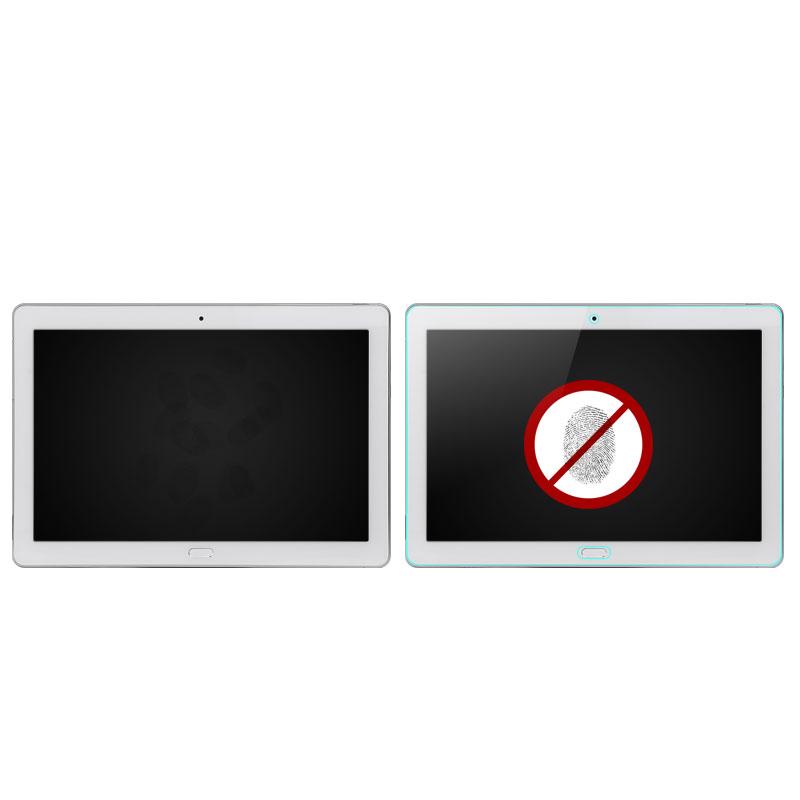 wisers docomo dtab d-01K 専用 ガラスフィルム Huawei 10.1インチ タブレット [ 2018 年 新型 ] 強化ガラス 液晶 保護 ガラス フィルム、耐衝撃、表面硬度9H、指紋・汚れ防止コート、スムースタッチ、0.3mm
