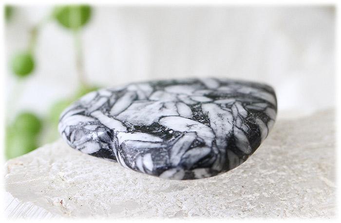 ピノリスハートストーン【石のサイズ35×35×7mm】01