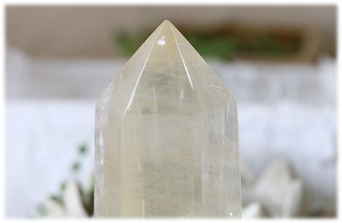 ゴールデンカルサイトポイント【石のサイズ150×58×49mm】03