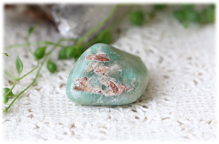 グリーンスミソナイトタンブルストーン【石のサイズ34×25×14mm】02