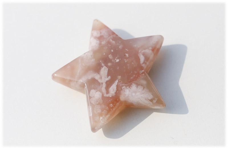 サクラ瑪瑙お星さま【03】石のサイズ50×14mm