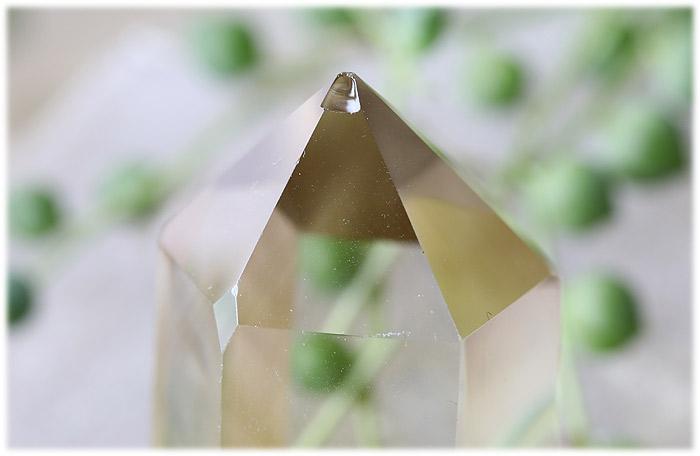 レモンクォーツポイント【石のサイズ70×30×26mm】11