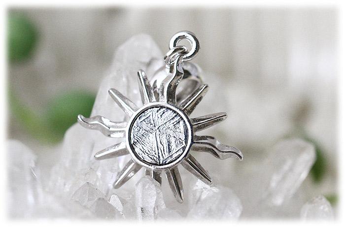ギベオンペンダント【Silver925】【石のサイズ4.5mm】02