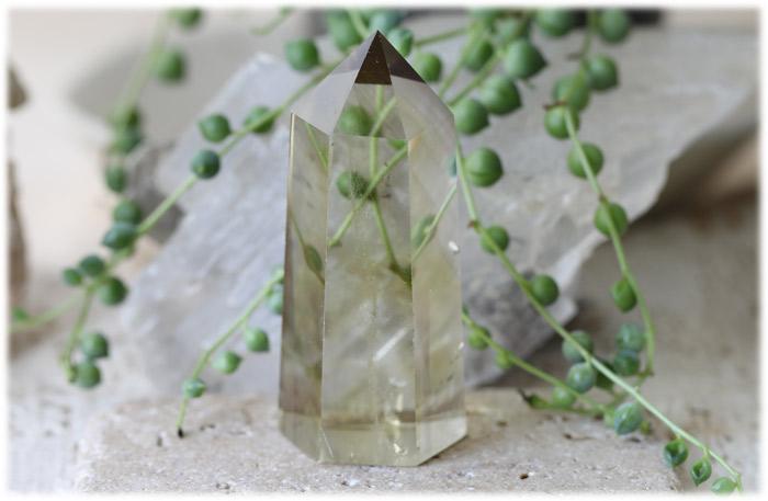 レモンクォーツポイント【石のサイズ70×31×26mm】14