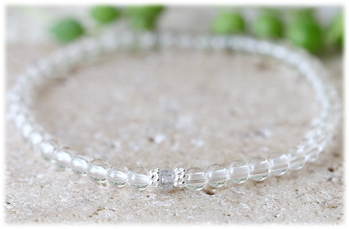 ダイヤモンド&クリスタル ブレスレット 05