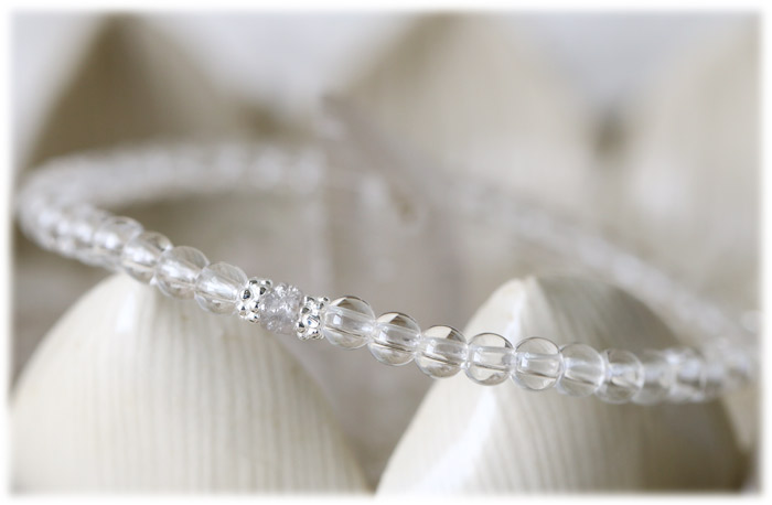 ダイヤモンド&クリスタル ブレスレット 07