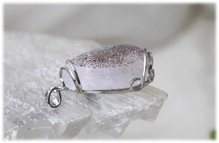 レピドクロサイトインクォーツペンダント【Silver925】【石のサイズ35×23×11mm】01