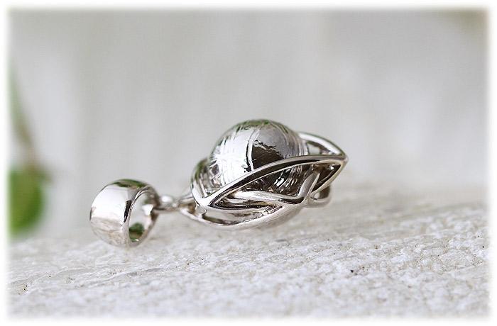 ギベオンペンダント【Silver925】【石のサイズ8mm】03