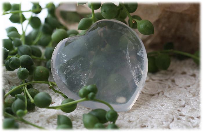 マダガスカル産ジラソルクォーツハートストーン【石のサイズ40×40×13mm】02