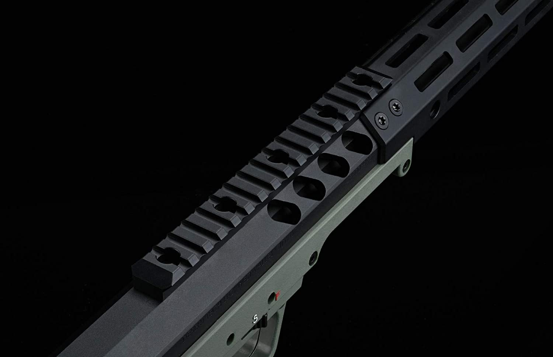SILVERBACK SRS A2 M2 Covert 16インチ [Covert] プルボルト BK // エアコッキング Desert Tech デザートテック SBA-BLT-13BK