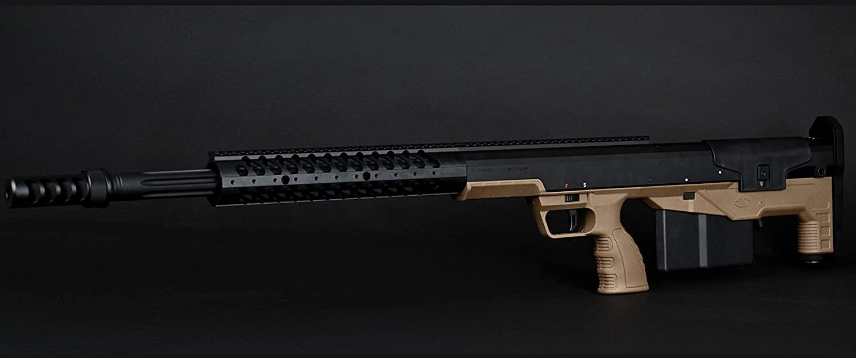 Silverback HTI .50 BMG Rifle (Pull Bolt)(ブルパップエアコッキングライフル) Black/FDE プルバック スナイパー エアーコッキング ライフル SBA-BLT-20FDE
