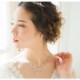 人気*ネックレス & ピアスセット【細身で上品な輝き*即日出荷可】ジルコニア,花嫁,パーティー