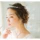 人気*ティアラ【透明感ある輝き/上品な印象/ジルコニア*即日出荷可】花嫁,ヘッドピース,アクセサリー