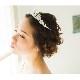 ティアラ 【可愛らしく上品なティアラ】  T-015 *即日出荷可能*結婚式,花嫁,ウェディング,ブライダルアクセサリー