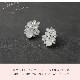 ピアス【柔らかな印象の乳白色ビジュー】P-055,花嫁,パーティー,演奏会,発表会★即日出荷可