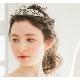 ティアラ 【パールのフラワーモチーフ】  T-020*即日出荷可能*結婚式,花嫁,ウェディング,ブライダルアクセサリー