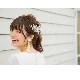 クリスタルコーム【透明感ある輝き】C-011,ビジュー,花嫁,演奏会,発表会,★即日出荷可