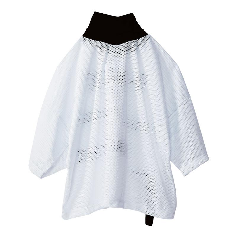 【期間限定20%OFF】メッセージメッシュオーバーハイネックTシャツ2