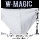 チェーン付きクロスジョグパンツ W-Magic