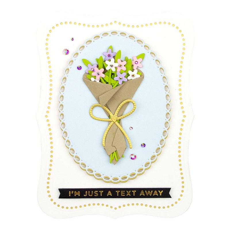 【S4-1123】/スペルバインダーズ/ダイ(抜型)/Bouquet of Flowers 花束 花