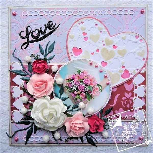 6002-0481/Joy! Crafts/ジョイ・クラフツ/ダイ(抜型)/Hearts ハート