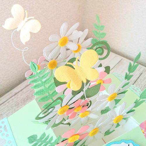 大北美鈴先生「ダイカットマシンで作るフラワーBOX(おまけのカード付き)」5/30開催分スクラップブッキング教室