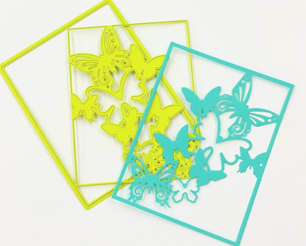 【DI-0223】/スペルバインダーズ/ダイ(抜型)/All Aflutter Die Set  蝶々 ダイセット