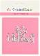 【411】/ワンダーハウス/ダイ(抜型)/Life is Beautiful   人生は素晴らしい テキスト 筆記体 タイトル