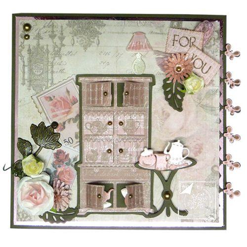 6002-0385/Joy! Crafts/ジョイ・クラフツ/ダイ(抜型)/Roll up roses バラ