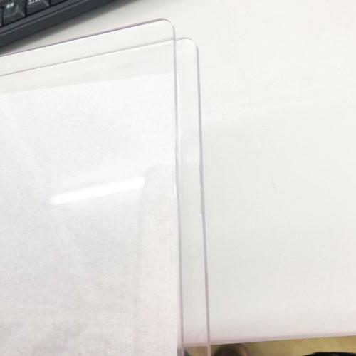W002-B/WonderHouse/ワンダーハウス/カッティングパッド 198x150mm 3.0mm PC MAT(アクリル樹脂 クリア) A5サイズ対応中型マシン向け