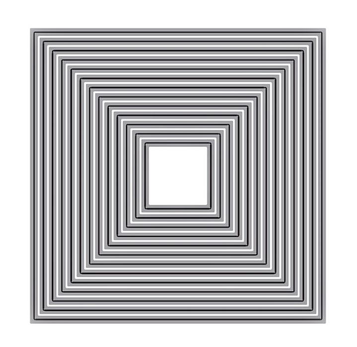 【416】/ワンダーハウス/ダイ(抜型)/ネスティング レイヤー 正方形 スクエア 四角 しかく