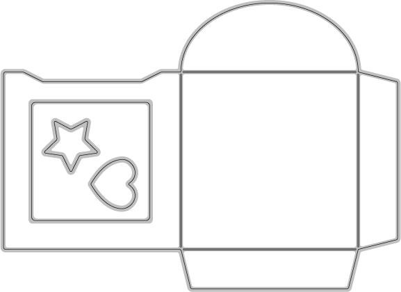 367/WonderHouse/ワンダーハウス/ダイ(抜型)/ミニ封筒 エンベロープ