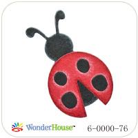 N57-076/WonderHouse/ワンダーハウス/ダイ(抜型)/ladybug てんとう虫 テントウムシ