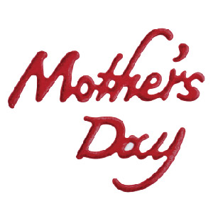 N57-097/WonderHouse/ワンダーハウス/ダイ(抜型)/Mother's Day 母の日