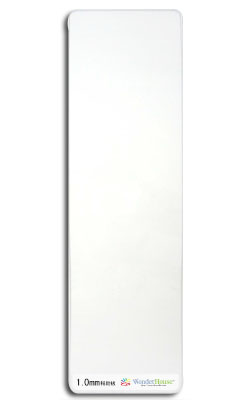 W102-L6/WonderHouse/ワンダーハウス/カッティングパッドロング 105x350mm 1.0mm 【メール便不可】
